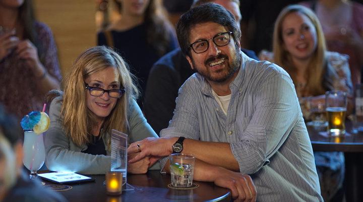 Ray Romano </p><p>y Holly Hunter en 'La gran enfermedad del amor'