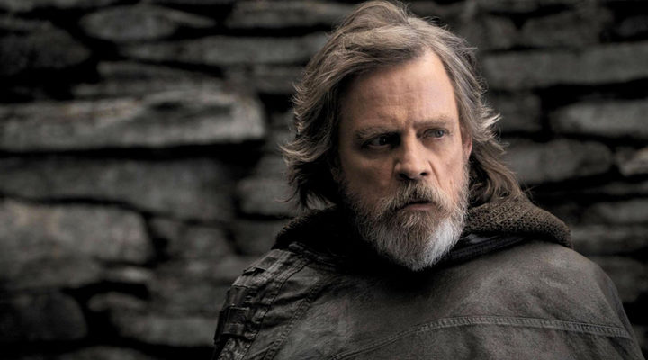 Luke Skywalker en 'Star Wars: Los últimos Jedi'
