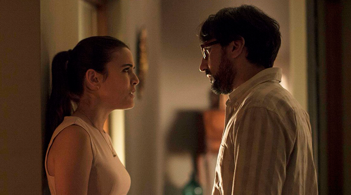 Adriana Ugarte y César Ritter en 'El sistema solar'