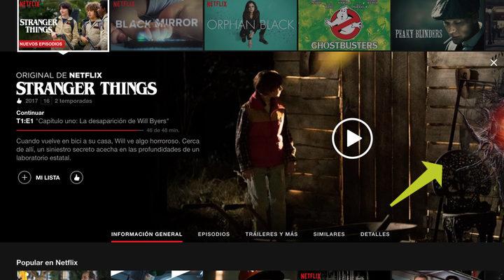 'Stranger Things' en Netflix