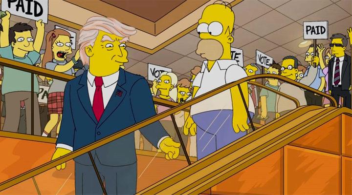 'Trump Los Simpson'