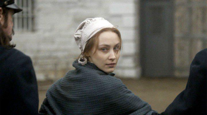 Sarah Gadon en el papel de Grace Marks, la protagonista de 'Alias Grace'