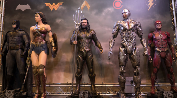Liga de la Justicia en Heroes Comic Con Madrid