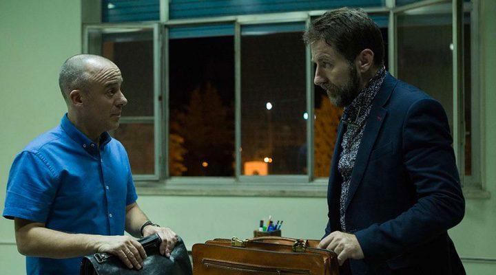 Antonio de la Torre y Javier Gutiérrez en 'El Autor'