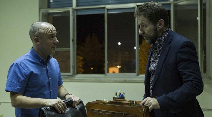 Javier Gutiérrez y Antonio de la Torre en 'El Autor'