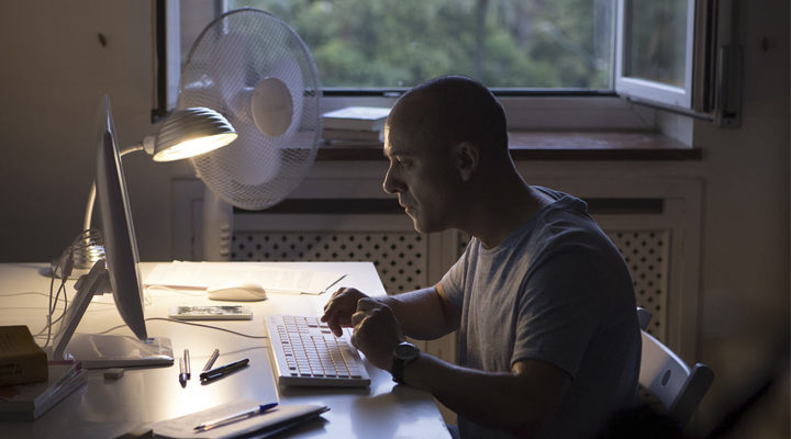 Javier Gutiérrez en 'El Autor'