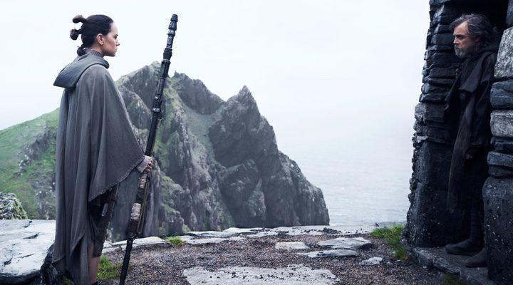 'Rey y Luke son los protagonistas del nuevo avance de 'Star Wars: Los últimos Jedi''