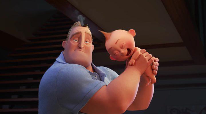 'Jack-Jack y Mr. Increíble protagonizan el primer teaser de 'Los increíbles 2''