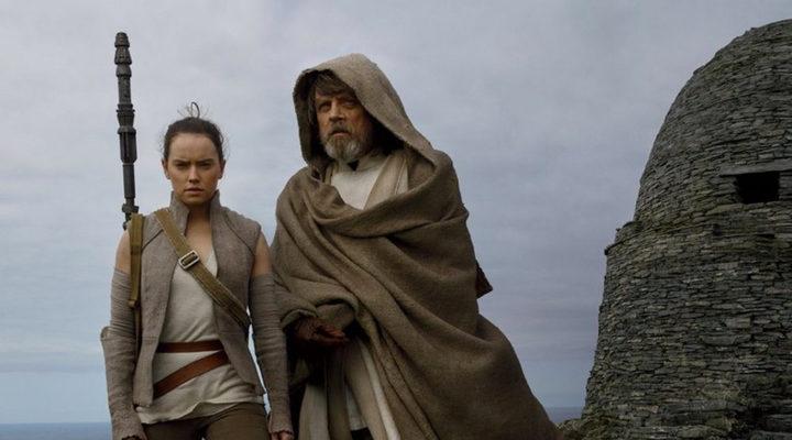 Rey y Kuke 'Star Wars: Los últimos Jedi'