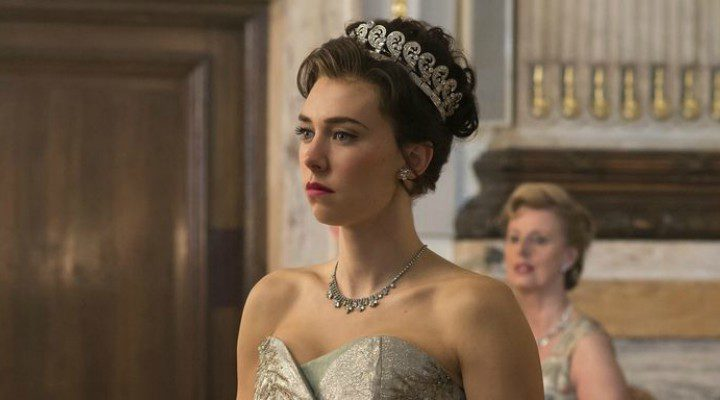 Vanessa Kirby en su papel de la Princesa Margarita en la segunda temporada de 'The Crown'