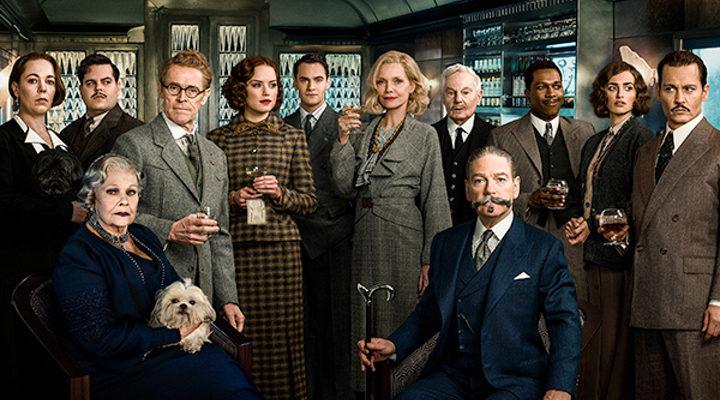 Personajes de 'Asesinato en Orient Express'