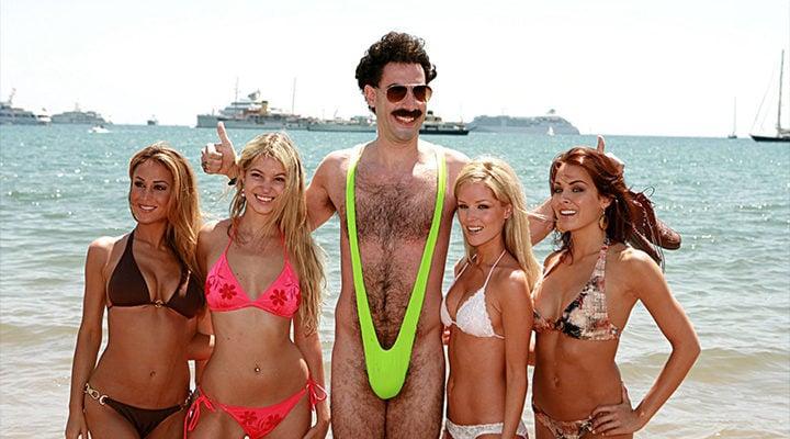 Borat en Mankini