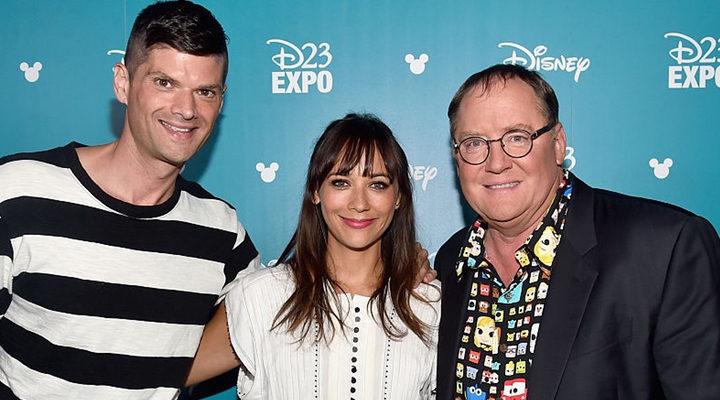 Rashida Jones, Will McCormack y John Lasseter