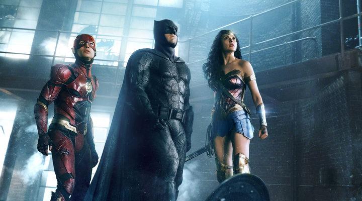 Flash, Batman y Wonder Woman en 'Liga de la Justicia'