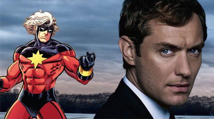 'Captain Marvel': Jude Law será el mentor de Brie Larson
