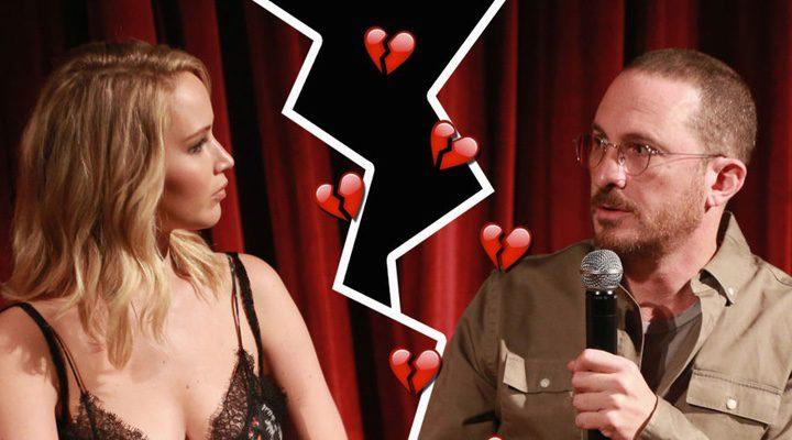 Darren Aronofsky y Jennifer Lawrence