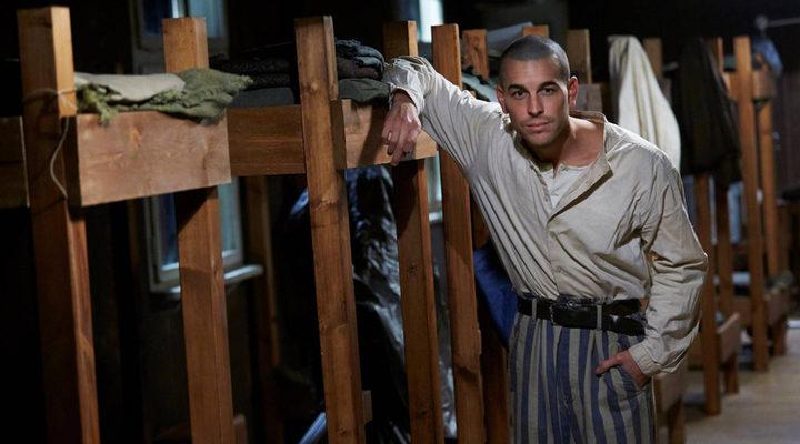 Mario Casas en el rodaje de 'El fotógrafo de Mauthausen'