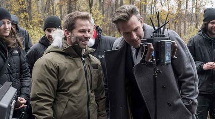 Zack Snyder en la Liga de la Justicia