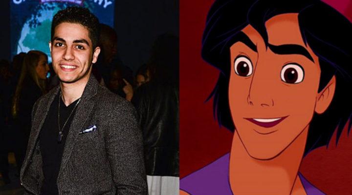 Mena Massoud y Aladdin