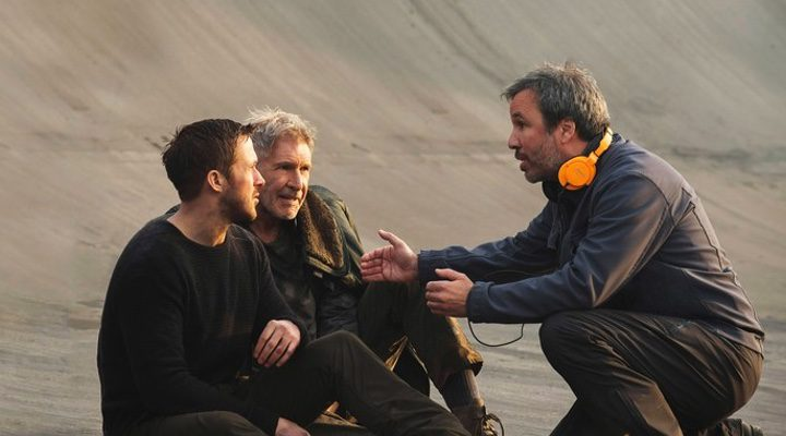 Denis villeneuve, Harrison Ford y Ryan Gosling