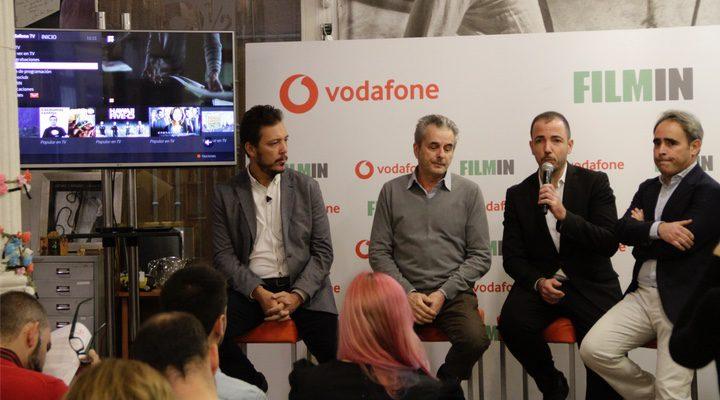 'El equipo de Filmin y Vodafone España presentan su acuerdo de unión'