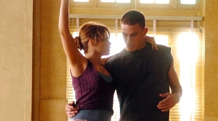 Channing Tatum y Jenna Dewan en 'Step Yp'