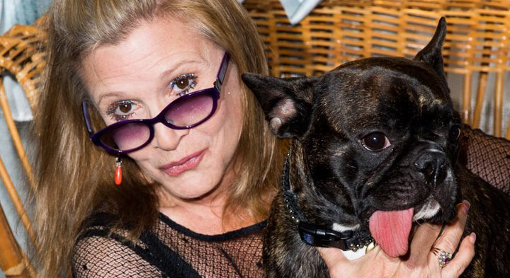 Carrie Fisher and Gary