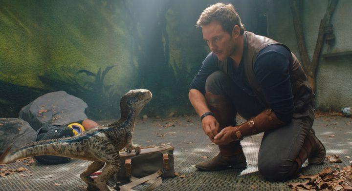 Chris Pratt en 'Jurassic World: El reino caído'