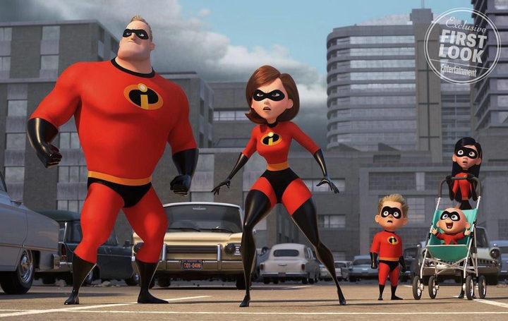 Primera imagen oficial de 'Los Increíbles 2'