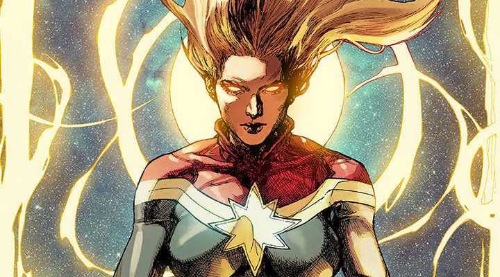 Captain Marvel en los cómics