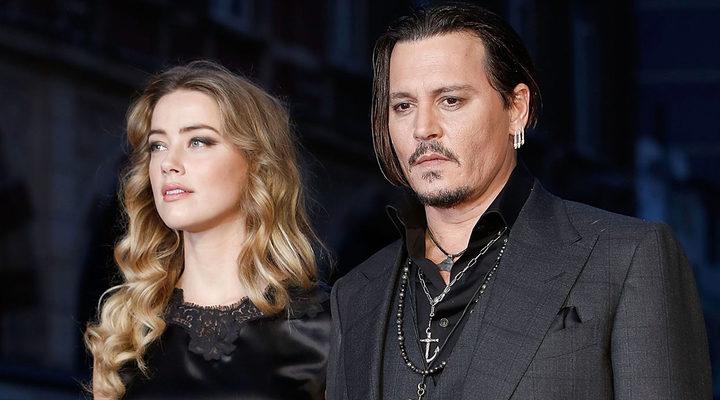 Amber Hear y Johnny Depp