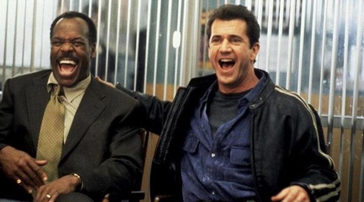 Mel Gibson y Danny Glover en 'Arma Letal'