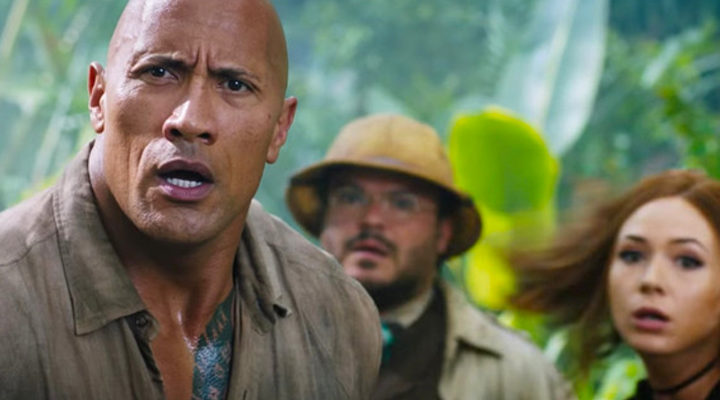Dwayne Jonhson en 'Jumanji:bienvenidos a la jungla'
