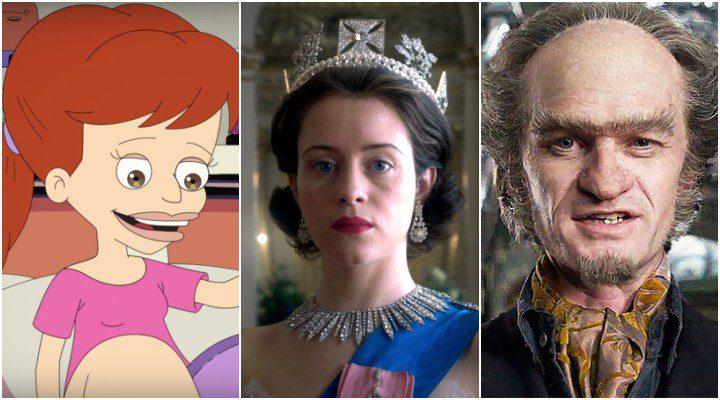 'Big Mouth, 'The Crown' y 'Una serie de catastróficas desdichas' son las tres series de Netflix más