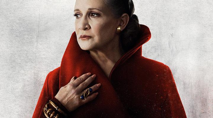 Princesa Leia en 'Star Wars:Los Últimos Jedi'