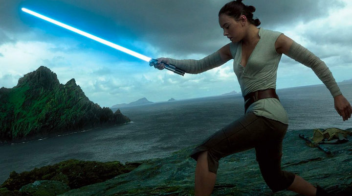 Rey en 'Star Wars: Los últimos Jedi'
