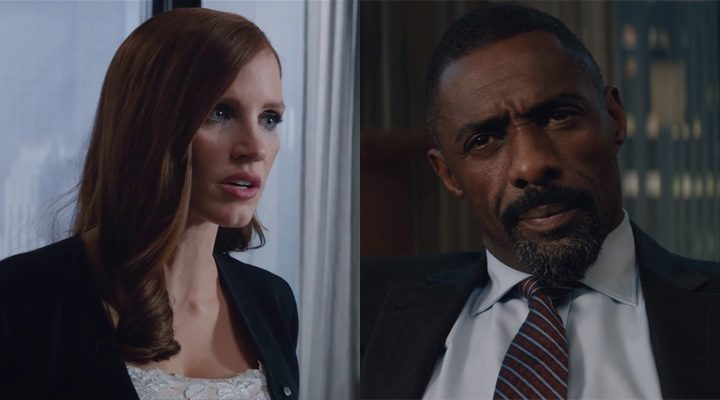 'Idris Elba y Jessica Chastain se enzarzan en una discusión en este clip exclusivo de 'Molly's Game''