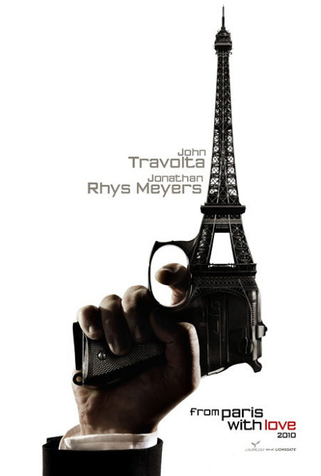 Cartel de 'From Paris with Love'