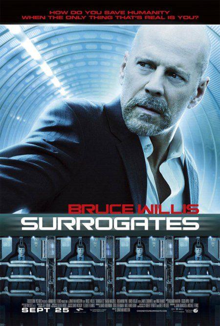 Primer cartel de 'The surrogates'