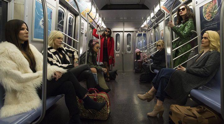 Cate Blanchett, Sandra Bullock, Sarah Paulson, Helena Bonham Carter, Rihanna, Awkwafina, Anne Hathaway, Mindy Kaling
