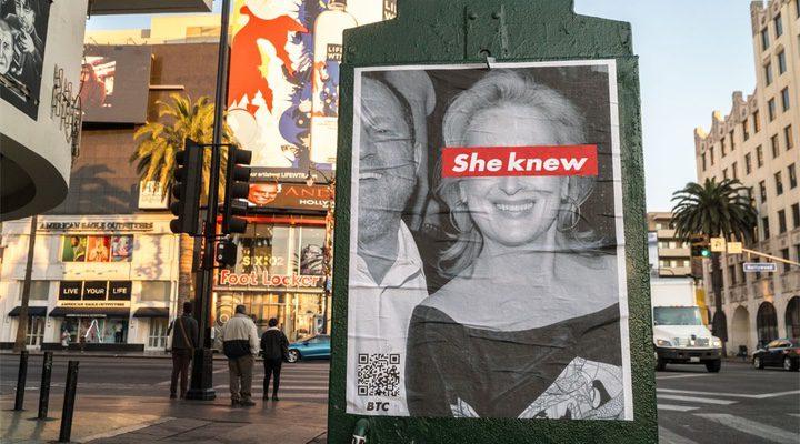 'Meryl Streep se enfrenta a una campaña de carteles en las calles de Los Ángeles'