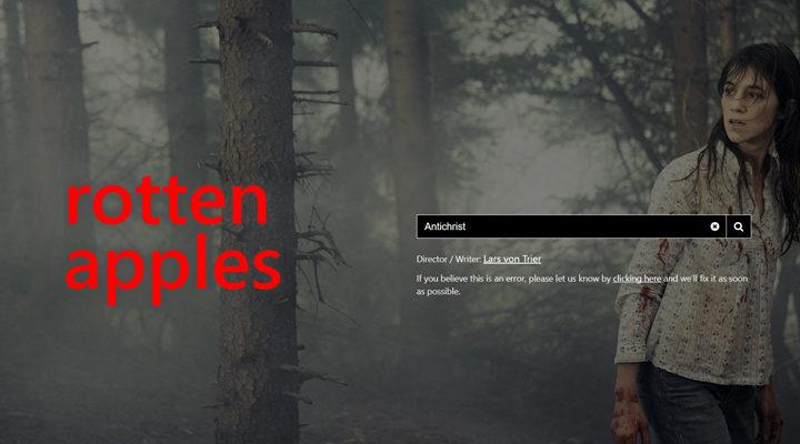 'Rotten Apples, la web que sabe si las películas están libres de acoso sexual'