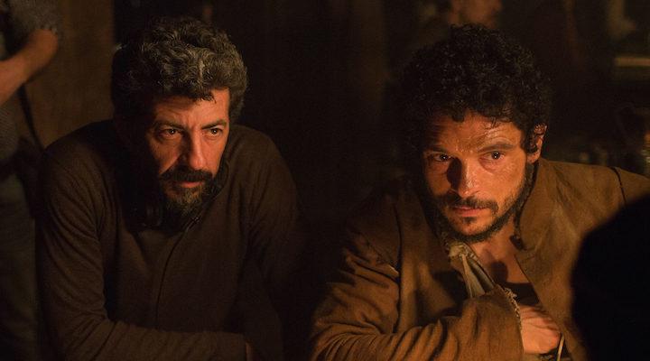 Alberto Rodríguez en el rodaje de 'La peste'
