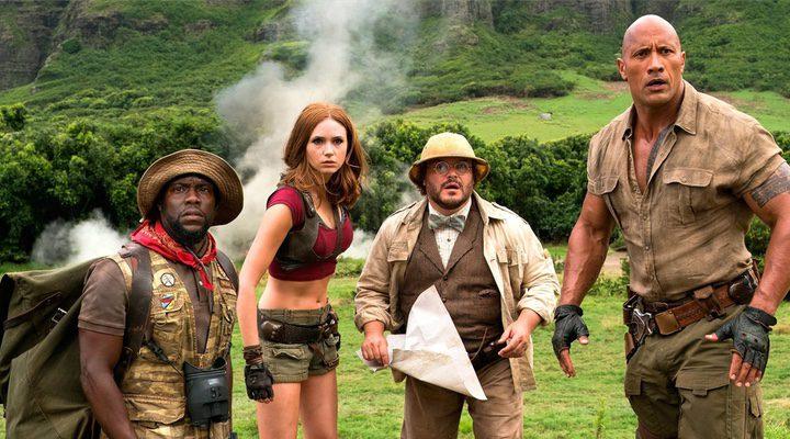 ''Jumanji: Bienvenidos a la jungla' se sitúa en segunda posición de la taquilla de Estados Unidos'