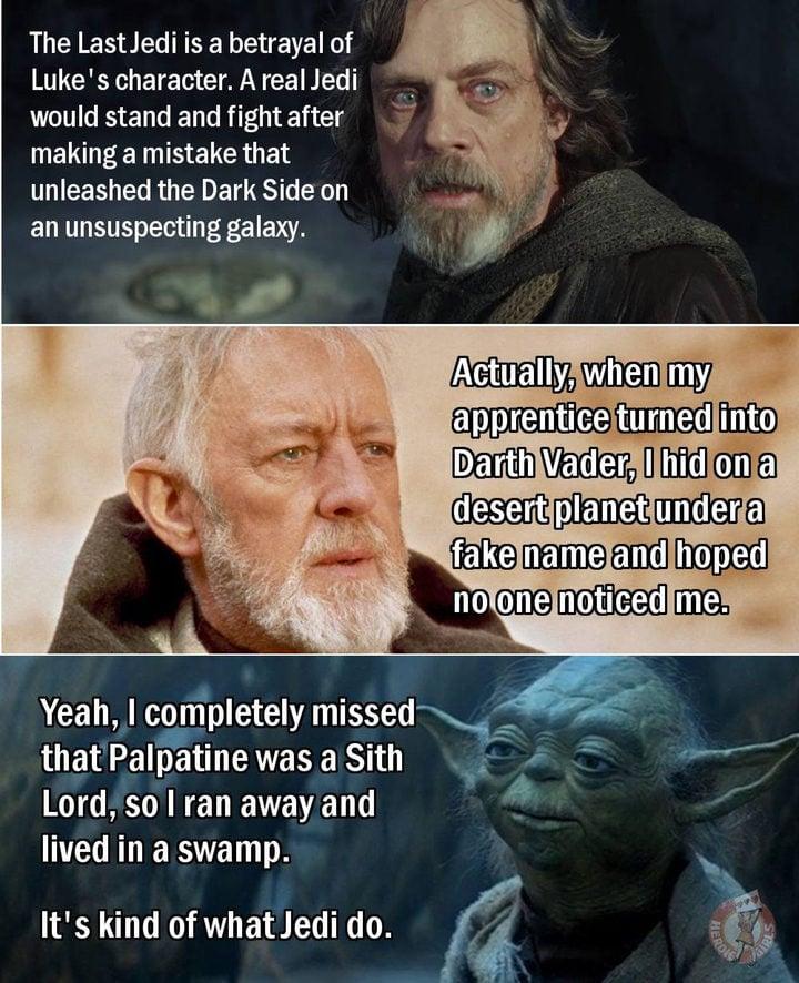 Meme 'Star Wars: Los últimos Jedi'