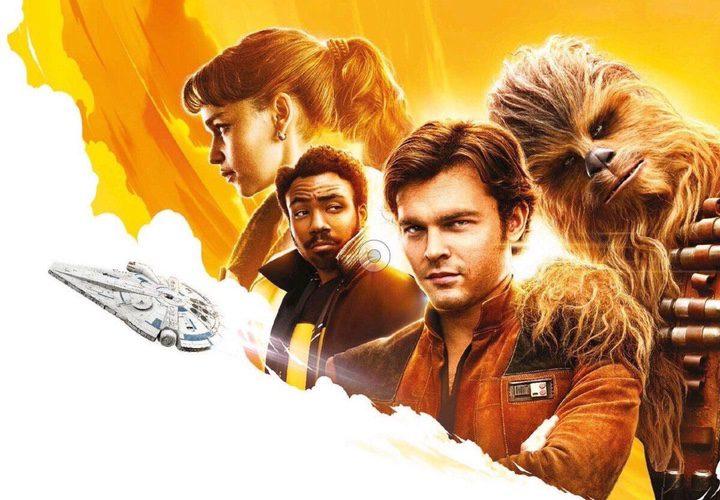 '¿Es este el primer póster de 'Solo: Una historia de Star Wars' con el Halcón Milenario?'