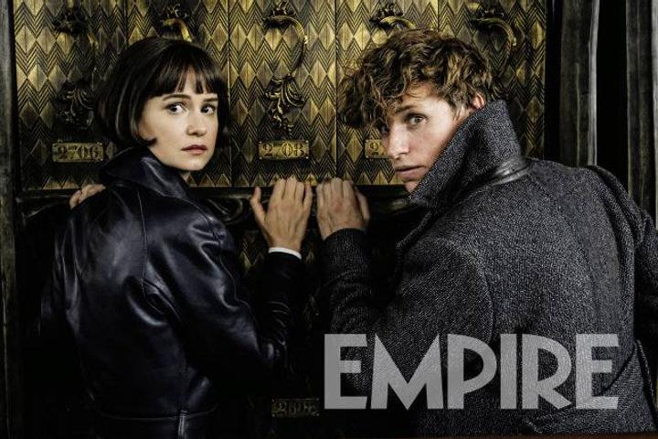 Newt y Tina en 'Animales fantásticos: los crímenes de Grindelwald'