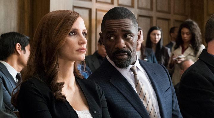 Idris Elba y Jessica Chastain