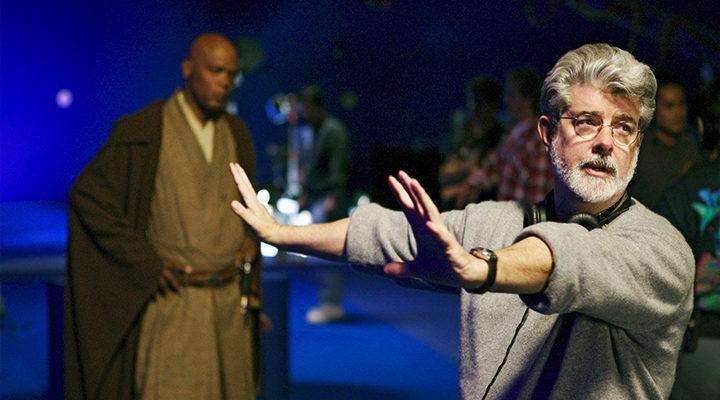George Lucas en 'La amenaza fantasma'