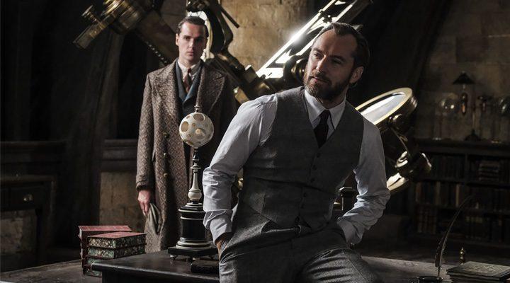 'Jude Law da vida a Albus Dumbledore en 'Animales Fantásticos: Los crímenes de Grindelwald''